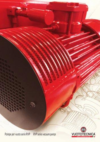 RVP series vacuum pumps