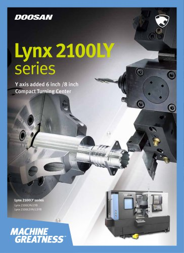 Lynx 2100LY series - Doosan Machine Tools - PDF Catalogs | Technical