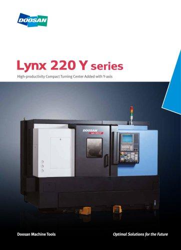 Lynx 220 Y series - Doosan Machine Tools - PDF Catalogs | Technical