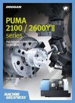 PUMA 2100 / 2600YⅡ series