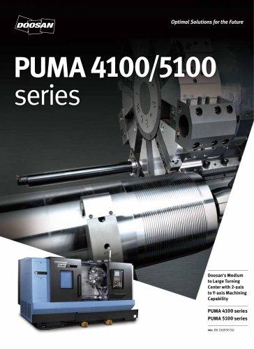 PUMA 4100-5100 series - Doosan Machine Tools - PDF Catalogs