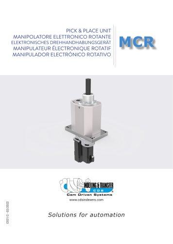 MCR pick & place unit