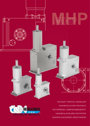 MHP Rotary parts-handlers