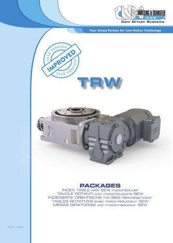TRW Index table with SEW motoreducer