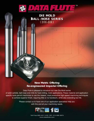 Die Mold Ball-Nose Series