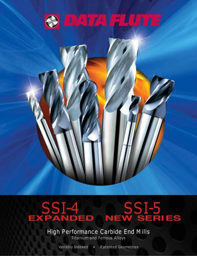 SSI Series - High Performance Carbide End Mills