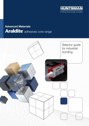 Adhesives Core Range - Selector Guide for industrial bonding