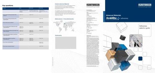 Araldite 2000+ Selector Guide