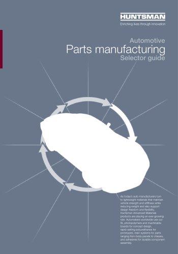 Automotive - Parts manufacturing