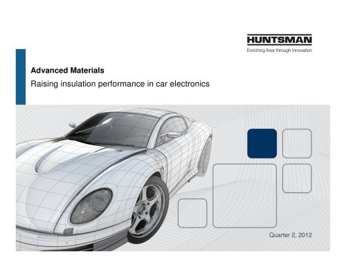 Raising insulation performance in car electronics