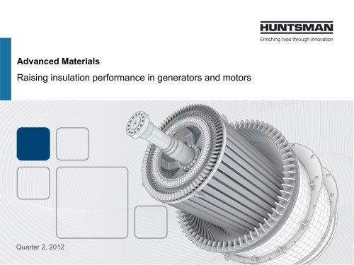 Raising insulation performance in generators and motors
