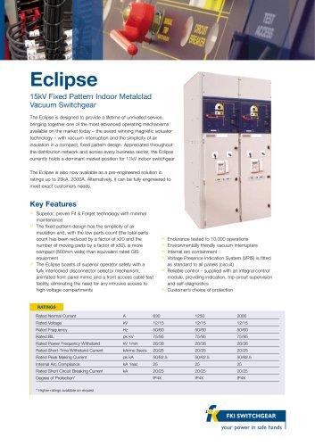 Eclipse Data Sheet