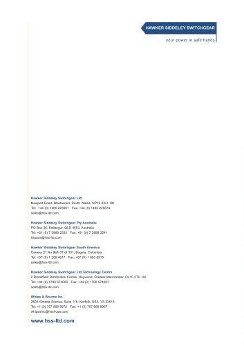 Hawker Siddeley Switchgear Ltd – quality and reliability