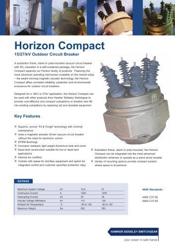 Horizon Compact 15/27/kV Outdoor Circuit Breaker