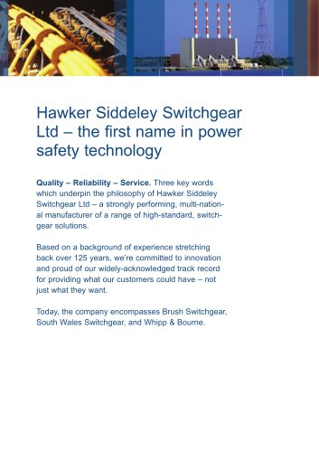 Power safety for the utility sector