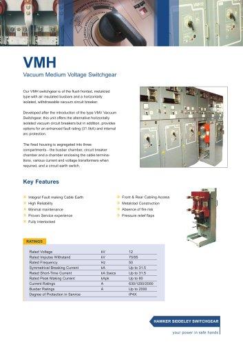 VMH Vacuum Medium Voltage Switchgear