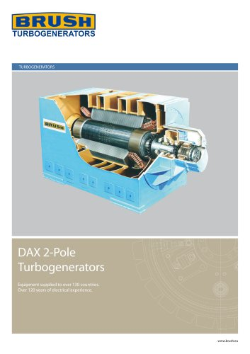 DAX 2 pole turbogenerator