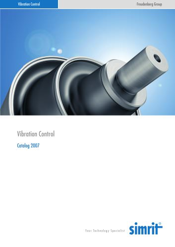 Catalogue 2007 Vibration Control