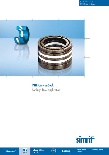 PTFE Chevron Seals  for high level applications