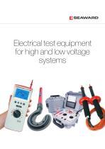 2014 Seaward High/Low Voltage Test Tools
