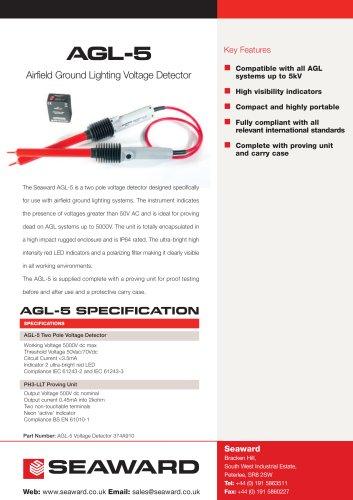 Aircraft Ground Lighting - AGL5 Datasheet
