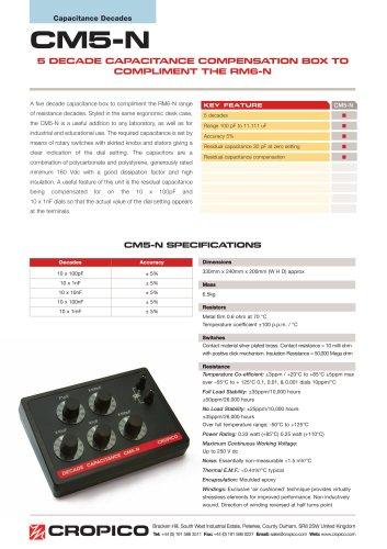 Cropico CM5-N Datasheet