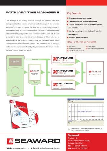 PATGuard Time Manager 2 Datasheet
