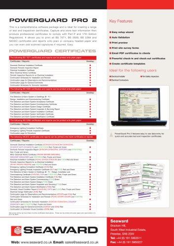 PowerGuard Pro 2 Datasheet