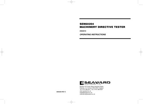 SEN60204 Datasheet