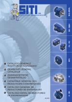 General catalogue gearboxes with bevel and/or helical gears