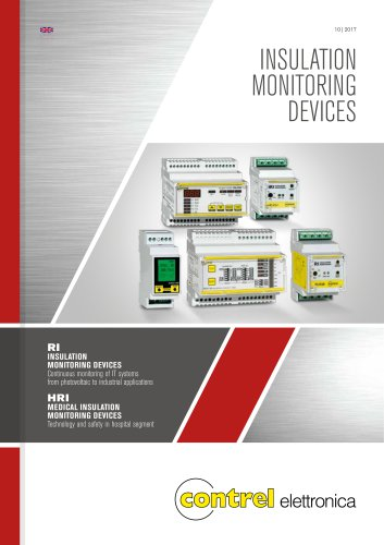 Insulation monitor (industrial and medical applications)