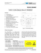 Digital to Analog Converters (DAC)  RDA012M4MS