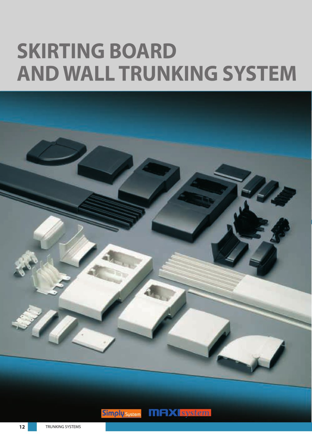 Skirting Board And Wall Trunking System Elettrocanali Pdf Wiring 1 16 Pages