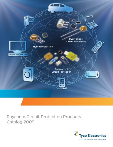 2009 Raychem Circuit Protection Products Catalog