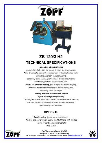 details ZB 120ZB/3H2/CNC