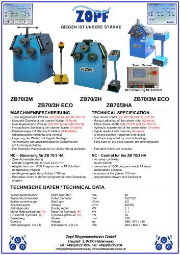 model ZB 70