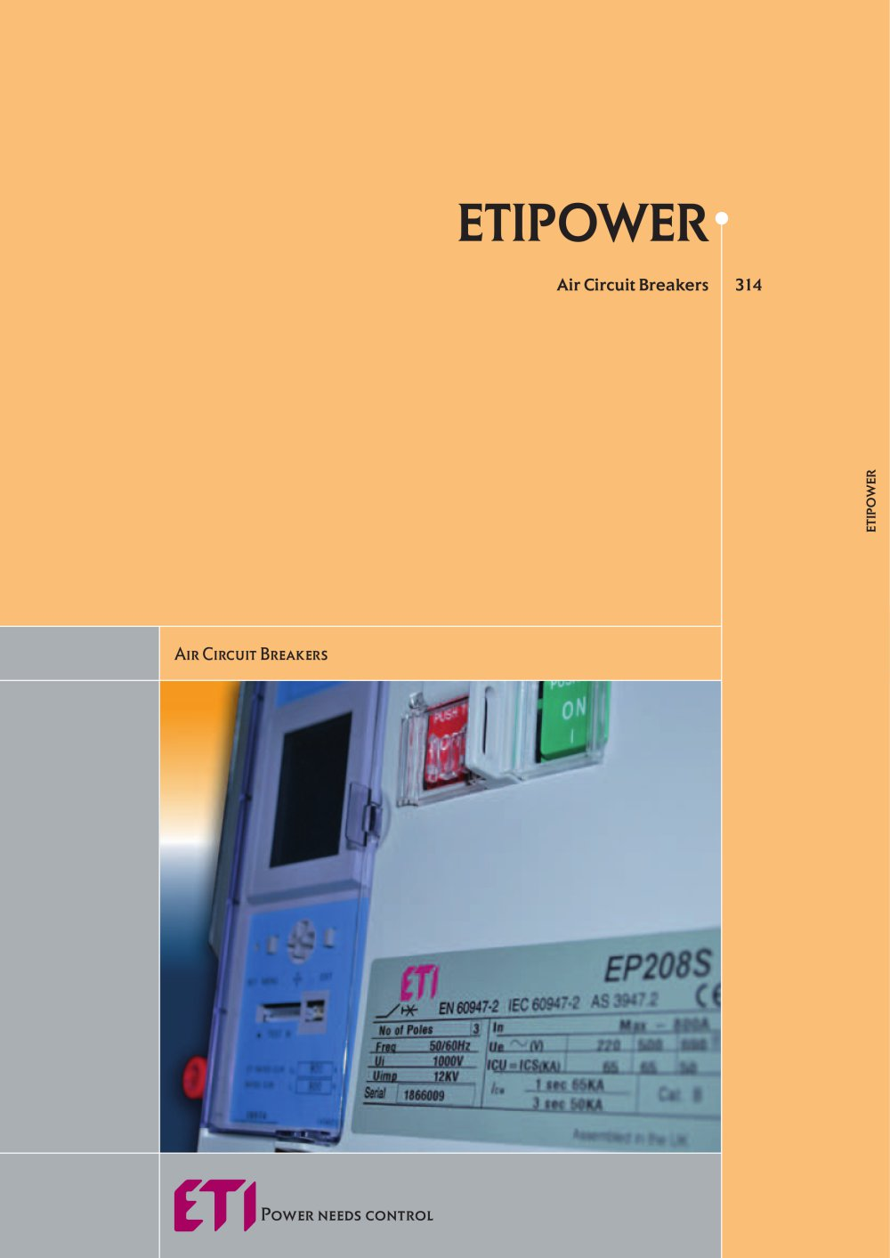 Air Circuit Breakers Eti Pdf Catalogs Technical Documentation Control Power For The Breaker S 1 4 Pages