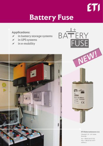Battery Fuse
