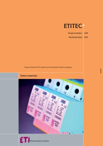 ETITEC : SURGE ARRESTERS
