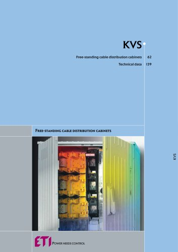 KVS : FREE-STANDING CABLE DISTRIBUTION CABINETS