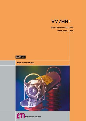 VV/HH - High voltage fuse-links