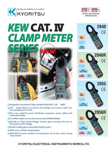 AC/DC Digital Clamp Meters 2046R/2055/2056R