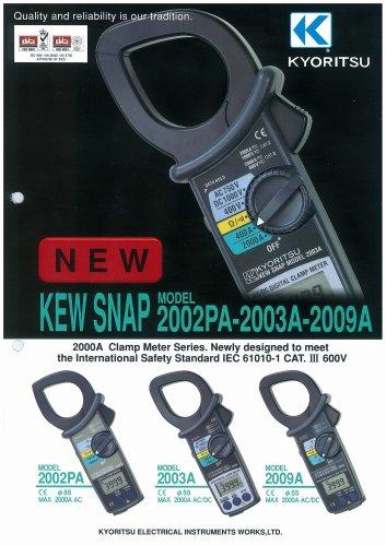 AC Digital Clamp Meter 2002PA