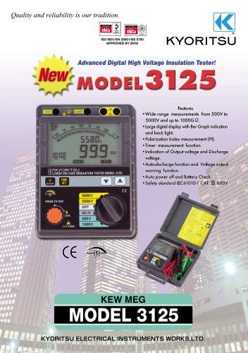 High Voltage Insulation Tester 3125