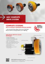 AGV COMPLETE DRIVE SYSTEM