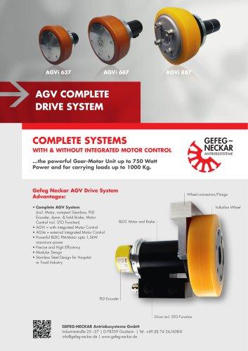 Agv Complete Drive System Gefeg Neckar Antriebssysteme Gmbh Pdf Catalogs Technical Documentation Brochure