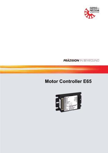 Motor Controller  E6 5