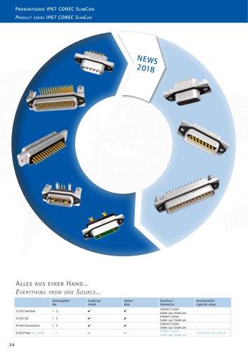 SlimCon Filter Connectors