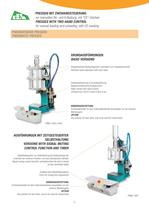 PNEUMATIC AND HYDROPNEUMATIC PRESSES - 11