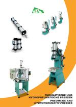 PNEUMATIC AND HYDROPNEUMATIC PRESSES - 1